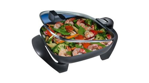 Oster SH12 12-Inch Skillet with Hinged Lid